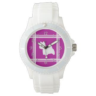 Westie Silhouette Wrist Watches