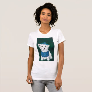 Westie T Shirt Womens Small