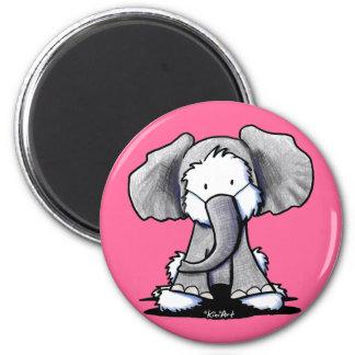Westie Terrier Elephant magnet