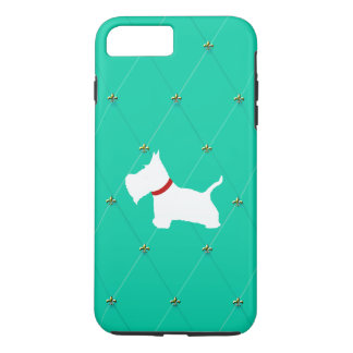 Westie Tiffany Blue Diamonds iPhone 7 Plus Case