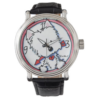 Westie Time Wrist Watch