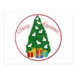 Westie Tree Post Cards