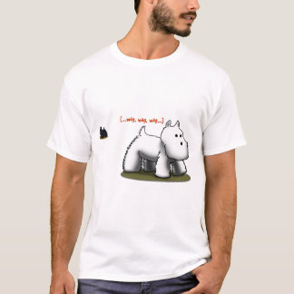 Westie (...wag, wag, wag...) T-shirt