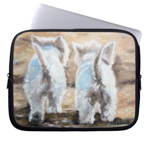 westie West Highland Terrier Dog Laptop Case Laptop Sleeve