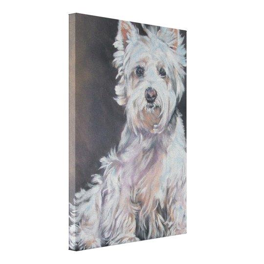 Westie West Highland Terrier fine art dog painting