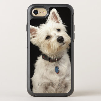 Westie (West Highland terrier) with collar OtterBox Symmetry iPhone 8/7 Case