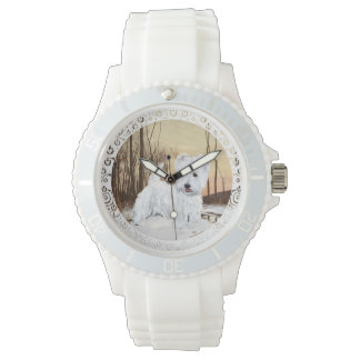Westie Winter Watches