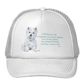 Westie Wisdom - Family Dynamics Mesh Hat