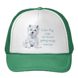 Westie Wisdom - Fat Dog? Hats