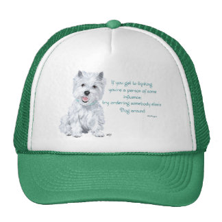 Westie Wisdom - Influential? Mesh Hats
