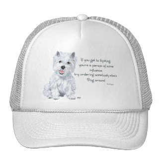 Westie Wisdom - Influential? Trucker Hat