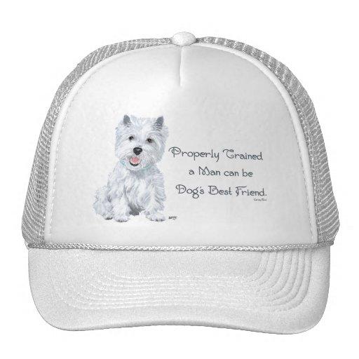 Westie Words of Wisdom Hat