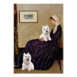 Westies 3 and 11 -  Whistlers Mother Poster