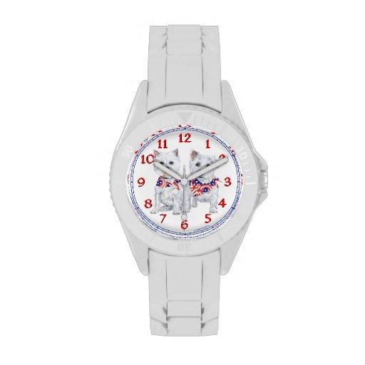 Westies Americana Wristwatches