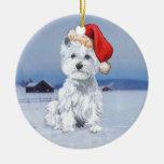 Westies Christmas Ornament