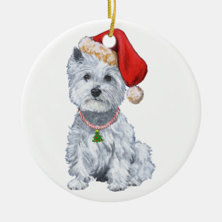 Westies Christmas Ornament