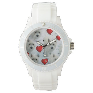 Westies Hearts watch Lovely Birthday Christmas