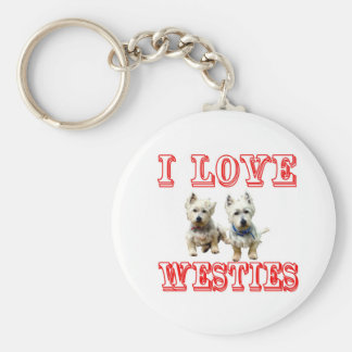 Westies Keychain