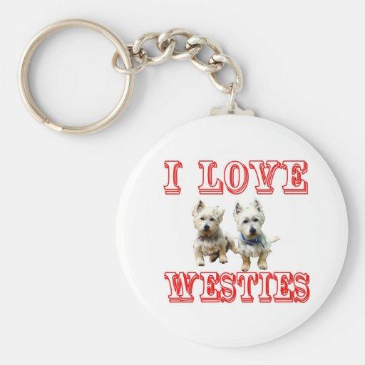 Westies Keychain.