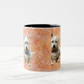 Westies Mug. Two-Tone Coffee Mug