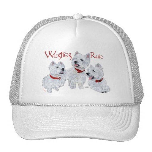 Westies Rule! Hats