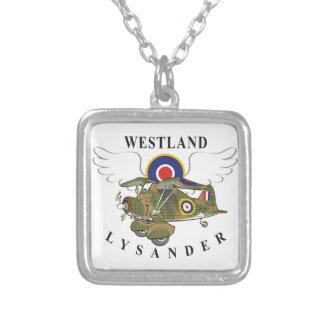 Westland Lysander Square Pendant Necklace