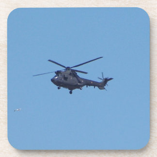 Westland Puma Military Helicopter Beverage Coasters