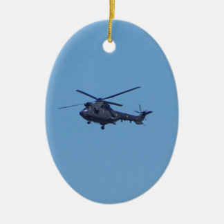 Westland Puma Military Helicopter Christmas Ornament