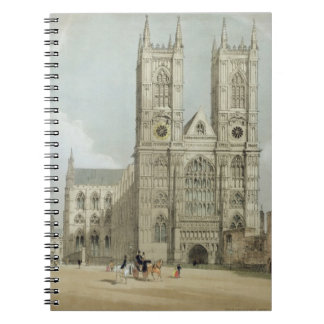 Westminster Abbey and Hospital, from 'London As It Spiral Notebook