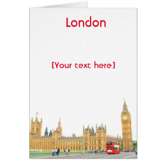Westminster Abbey in London Card