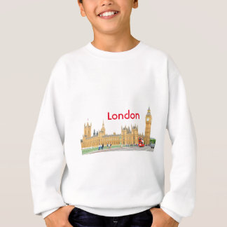 Westminster Abbey in London Sweatshirt