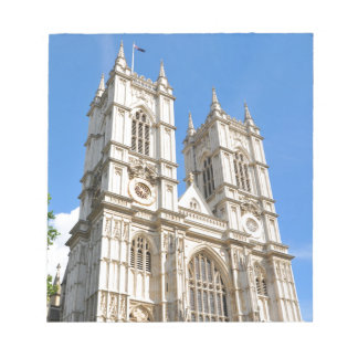 Westminster Abbey in London, UK Notepad