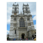 Westminster Abbey Post Card