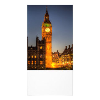 Westminster and Big Ben Customized Photo Card