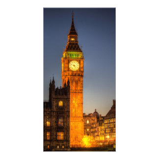 Westminster and Big Ben Picture Card