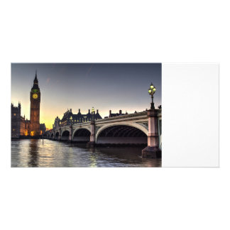 Westminster Bridge and Big Ben Card