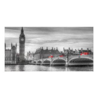 Westminster Bridge and Big Ben Photo Card