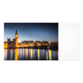 Westminster Bridge and Big Ben Photo Greeting Card