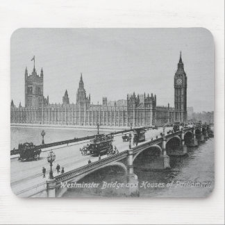 Westminster Bridge and the Houses of Mouse Pad