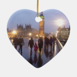 Westminster Bridge Christmas Ornament