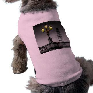 Westminster Bridge Lamp Sleeveless Dog Shirt