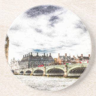 Westminster Bridge London Beverage Coasters