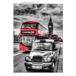 Westminster Bridge London Card