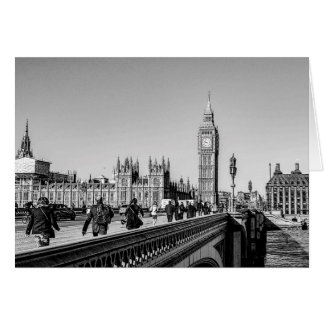 Westminster Bridge, London Card