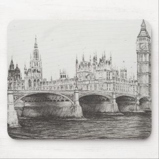 Westminster Bridge London UK. 30/10/2006 Mouse Pad