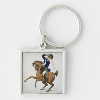 Westminster Cavalry Volunteer, plate 4 from 'Loyal Silver-Colored Square Key Ring