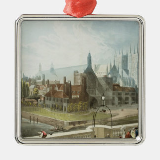 Westminster Hall and Abbey Christmas Ornament