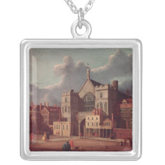 Westminster Hall and New Palace Yard Silver Plated Necklace