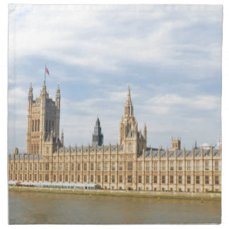 Westminster in London, UK Napkin
