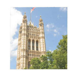 Westminster in London, UK Notepad